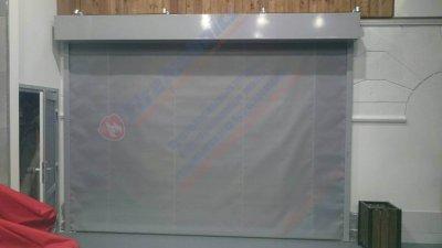 Противопожарная автоматическая штора Fireshield-EI60 в ТЦ Ориенбург